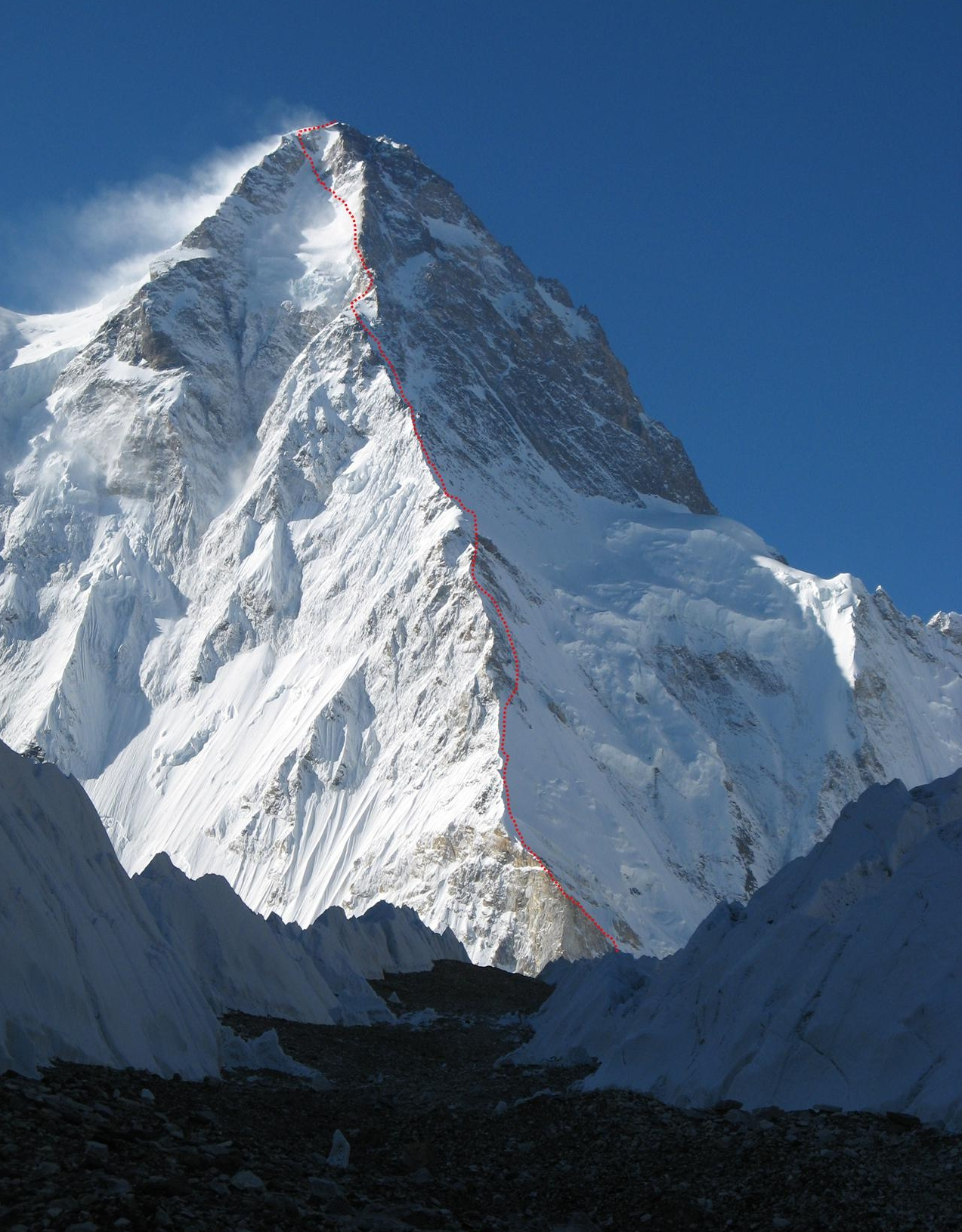 k2 mountain Looking for k2 (mountain) find out information about k2 (mountain) or peak, 28,251 ft high, in the karakorum karakorum or karakoram, mountain range, extending c300 mi , between the indus and yarkant rivers, n kashmir, s explanation of k2 (mountain.
