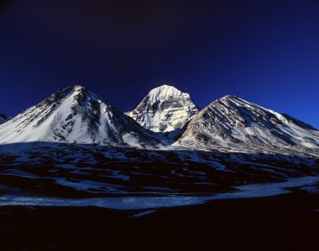 The Norh Face of Mt.Kailash 6714 m (Center)