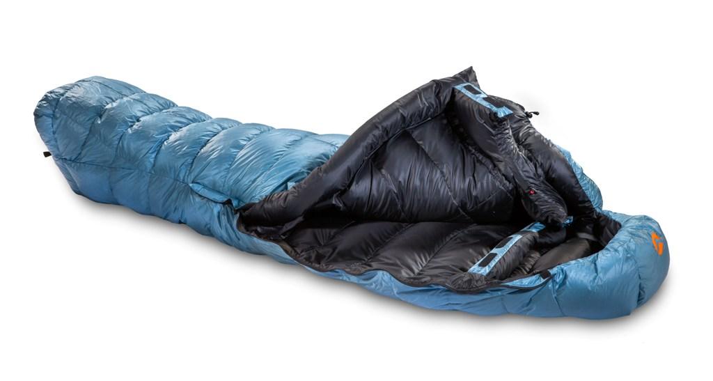 Valandre Shocking Blue Down Sleeping Bag